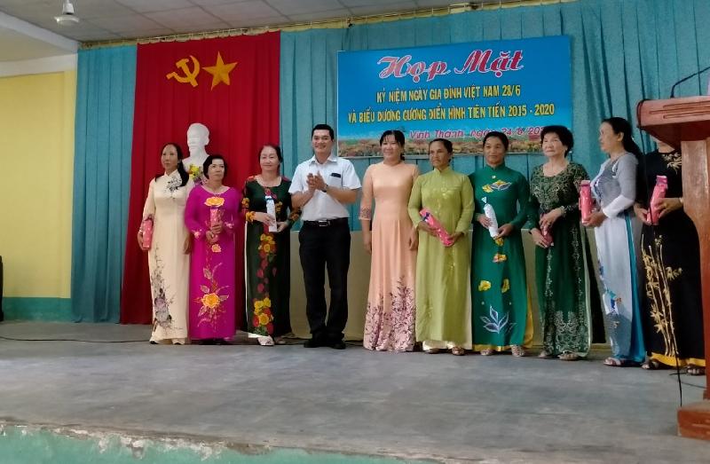 Vĩnh Thành tổ chức họp mặt kỷ niệm ngày gia đình Việt Nam 28/6 năm 2020