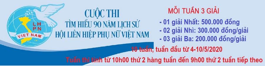 """Hội LHPN tỉnh phát động cán bộ, HV, PN tham gia cuộc thi trắc nghiệm online """"Tìm hiểu 90 năm lịch sử hình thành và phát triển của Hội Liên hiệp Phụ nữ Việt Nam"""""""