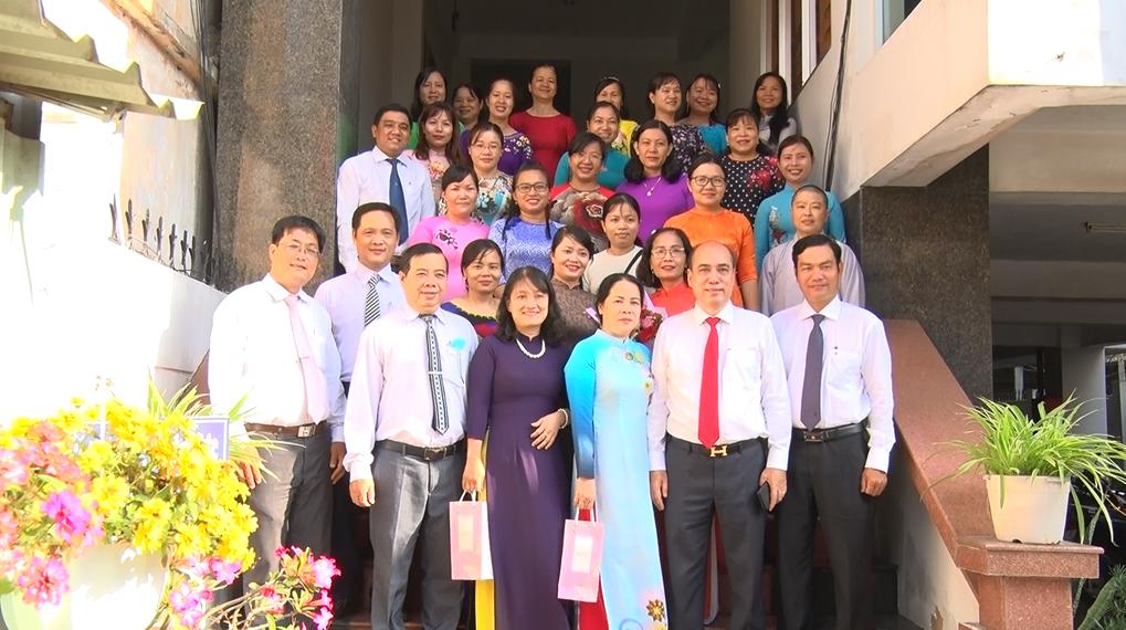 Hội Liên hiệp Phụ nữ thành phố Bến Tre tổ chức Họp mặt kỷ niệm ngày Quốc tế phụ nữ 8-3