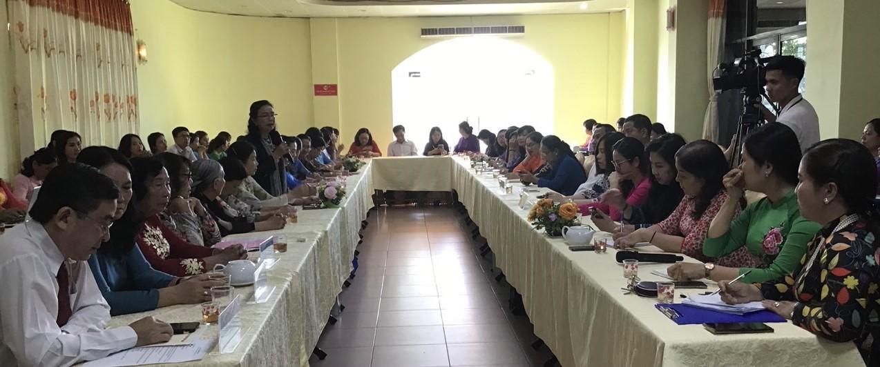 Tọa đàm định hướng hoạt động Hội và phong trào phụ nữ Nhiệm kỳ 2021-2026