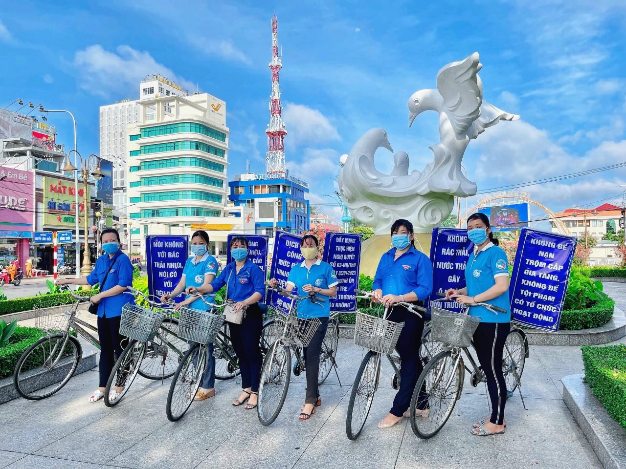 Hội Liên hiệp Phụ nữ phường An Hội phát động phong trào thi đua phòng, chống dịch COVID -19