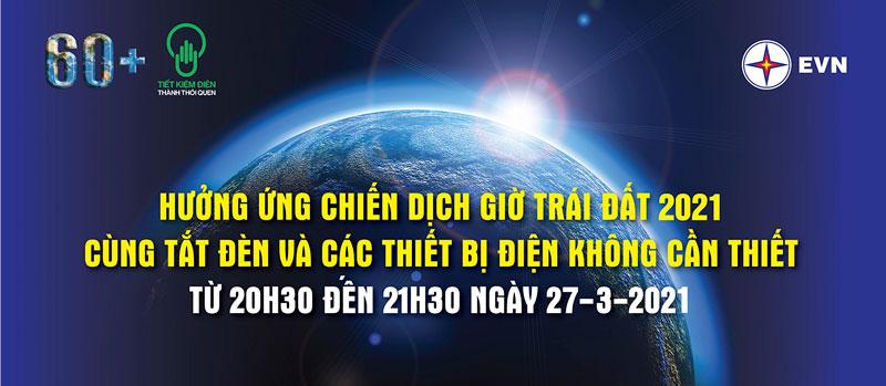 Tổ chức các hoạt động hưởng ứng Ngày Nước thế giới, Ngày Khí tượng thế giới, Chiến dịch giờ Trái Đất năm 2021