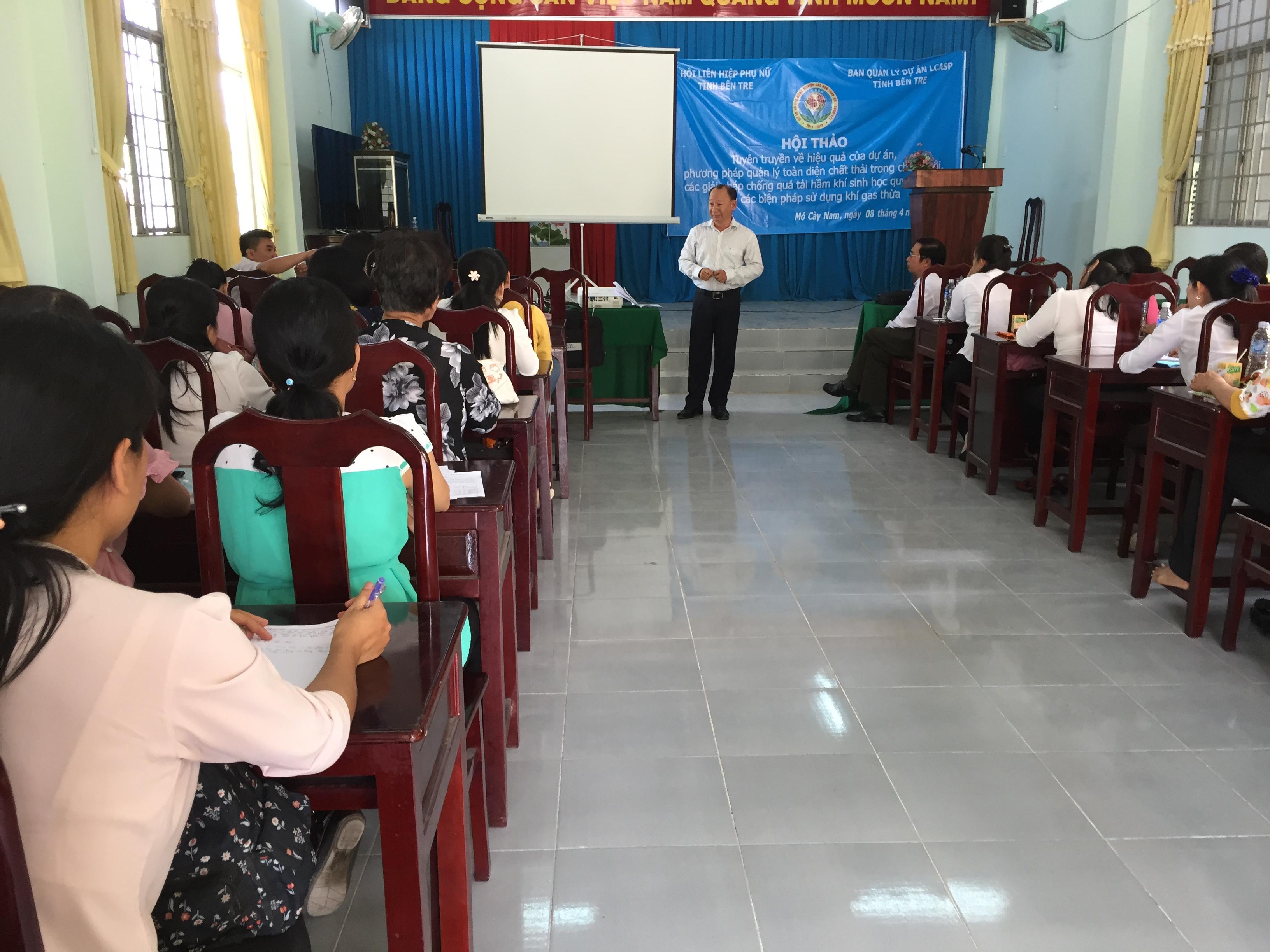 Hội thảo tuyên truyền về hiệu quả của dự án Các-bon thấp