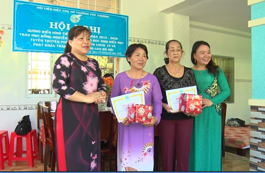 Thành phố Bến Tre: Phường Phú Khương tổ chức biểu dương gương điển hình tiên tiến giai đoạn 2015-2020