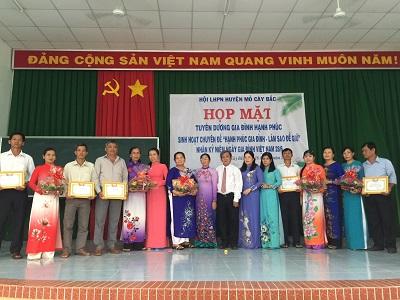 Họp mặt tuyên dương gia đình hạnh phúc kỷ niệm ngày gia đình Việt Nam 28/6