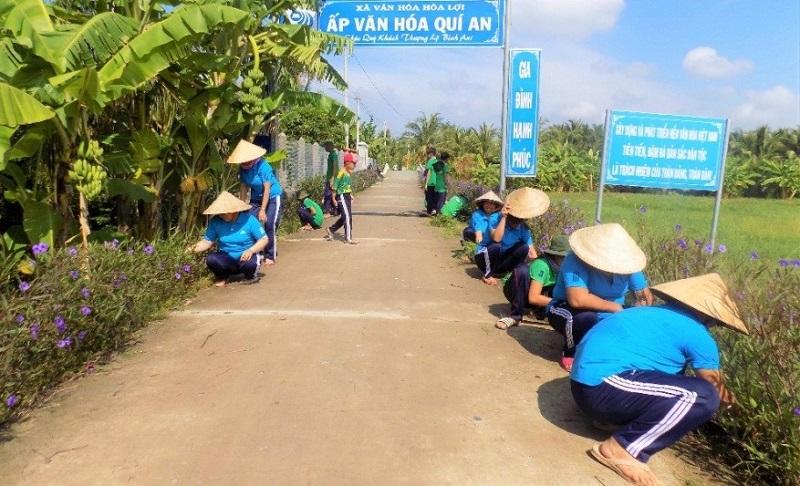 Phụ nữ Hòa Lợi quan tâm đào tạo nghề, giải quyết việc làm, chung tay xây dựng nông thôn mới