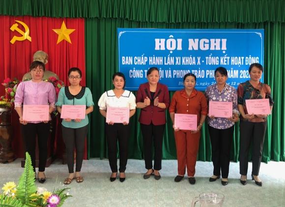 Hội nghị tổng kết hoạt động công tác Hội và phong trào phụ nữ năm 2020