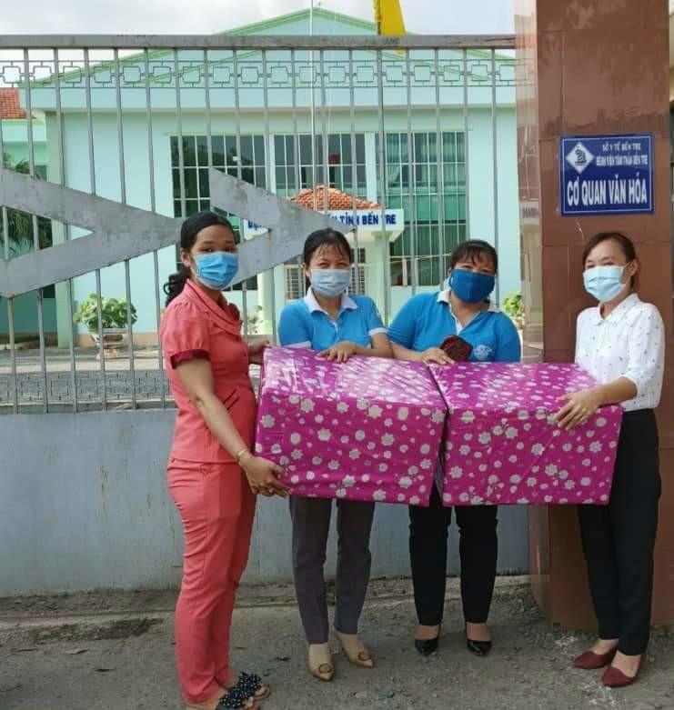 Hội Liên hiệp Phụ nữ thành phố Bến Tre nhiều hoạt động thiết thực phòng, chống dịch COVID 19