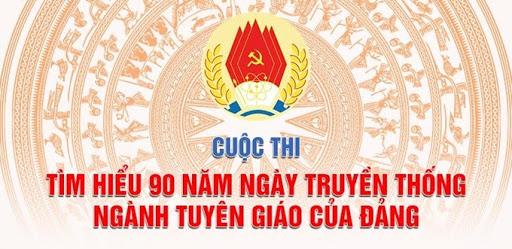 Hưởng ứng tham gia cuộc thi trắc nghiệm tìm hiểu 90 năm Ngày truyền thống ngành Tuyên giáo của Đảng do Ban Tuyên giáo Trung ương tổ chức.